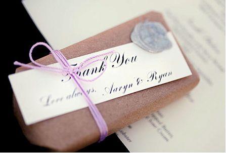 Ringraziamenti di matrimonio da consegnare il giorno delle nozze