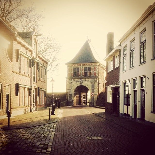 Schoonhoven, renowned for its silver, is a city and municipality in the western Netherlands. #gate #town #netherlands #travel #history #silver #igers