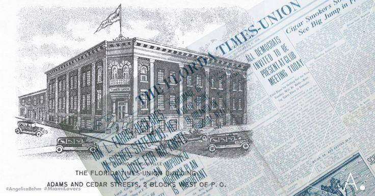 #1864 #Jacksonville El #FloridaTimesUnion es el periódico más antiguo del estado de #Florida. En 1883, dos periódicos (el Florida Daily Times y el Florida Union) se unieron y formaron el actual Florida Times-Union, combinando ambos nombres. Ha relatado los acontecimientos del noreste de Florida, la nación y el mundo durante los últimos 150 años. Viva la prensa libre. #MiamiLovers #ConectandoEstiloDeVida