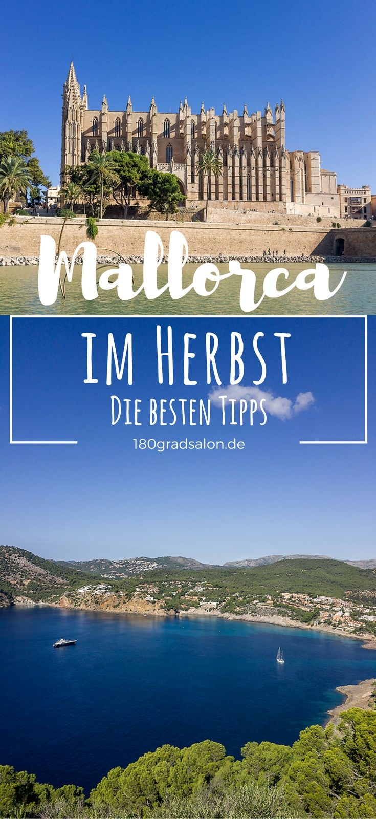 Mallorca im Herbst ist wunderbar! Angenehm warme Temperaturen zum Wandern und Baden laden dazu ein seinen Urlaub in der Nebensaison zu genießen. Die besten Tipps für September, Oktober und November auf Mallorca. #mallorca #mallorcaisland #palmademallorca #balearen #mallorcafeelings #wanderlust