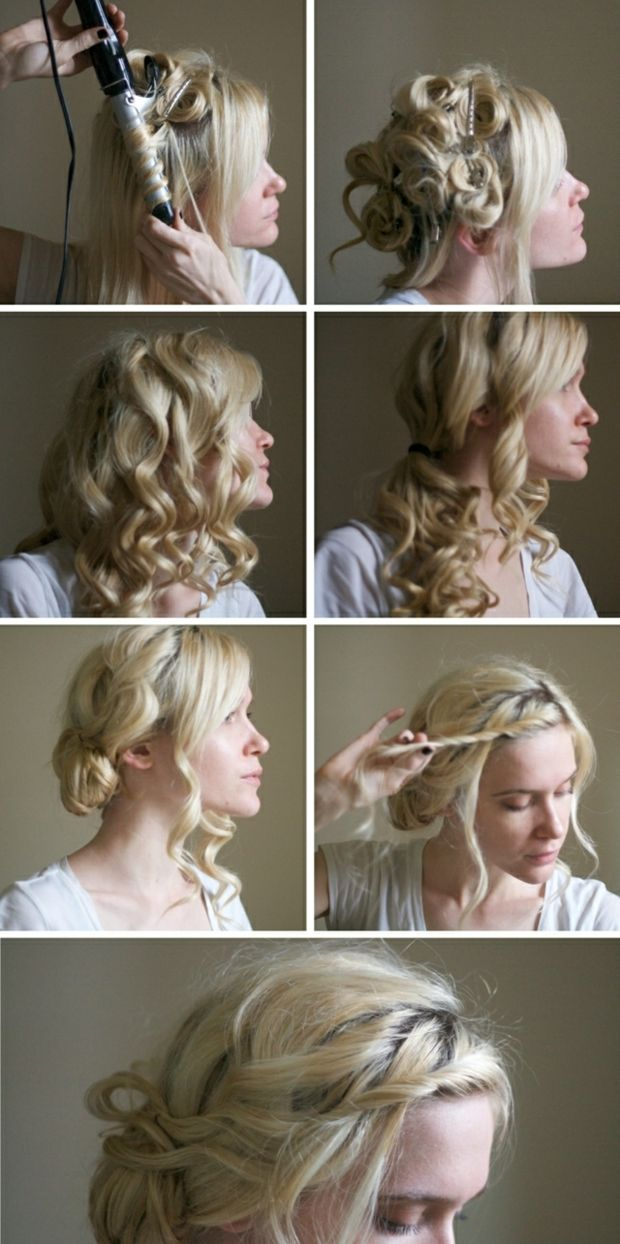 Locken Frisuren Anleitung Latest Locken Frisuren Anleitung With