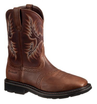 """Ariat Prospector Work Boots for Men - Copper - 9.5W: """"""""""""A Bass Pro… #camping #hiking #outdoors #shooting #fishing #boating #hunting"""