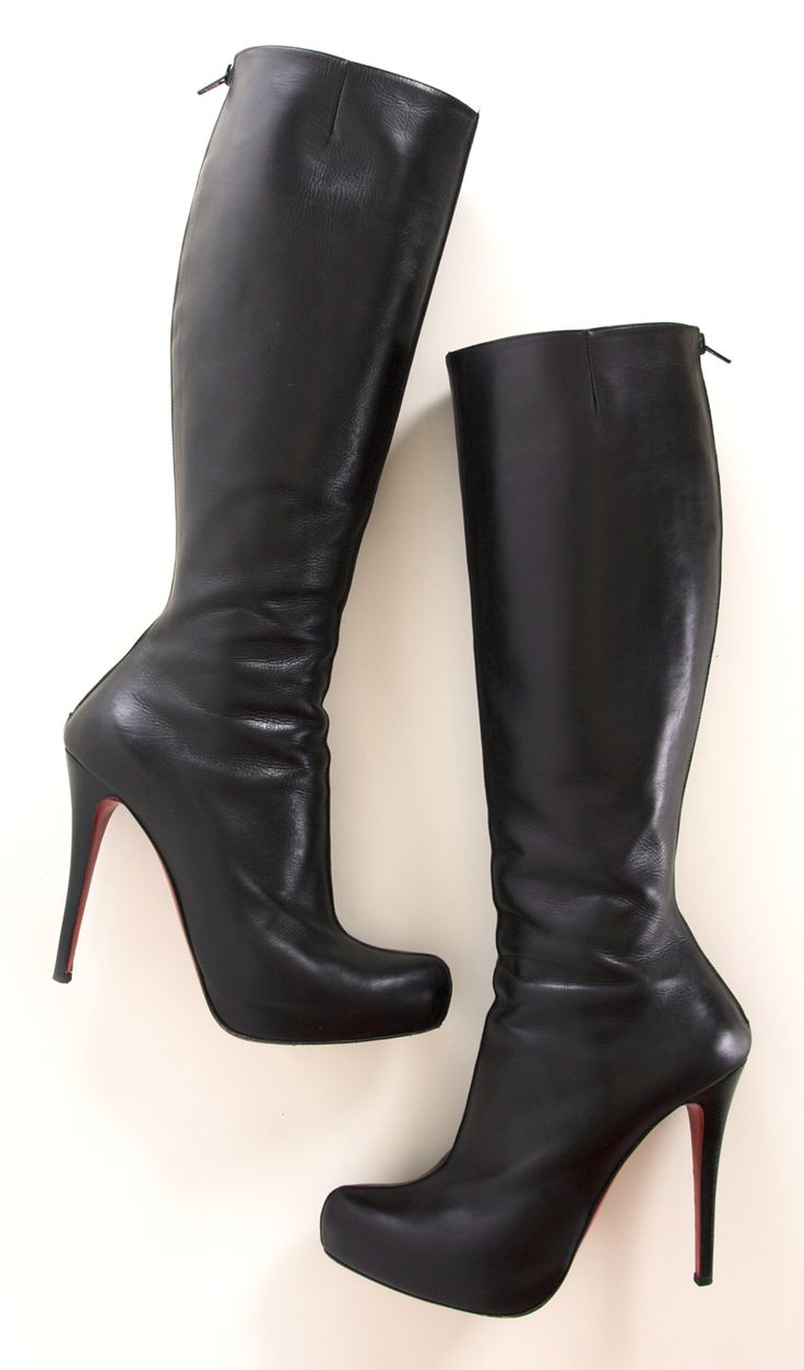 CHRISTIAN LOUBOUTIN BOOTS @Michelle Coleman-HERS