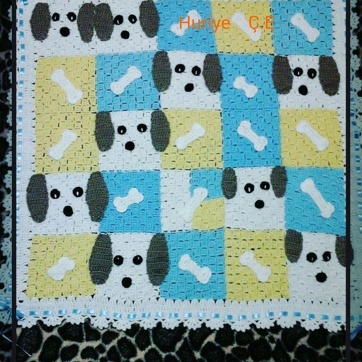 Knittingblanket. baybdecken  .bebek  battaniyesi.