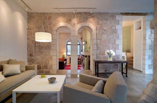 Modern Apartment Design in Jerusalem: Modern Interiors Coupled With Classic Design ~ hivenn.com Apartment Inspiration