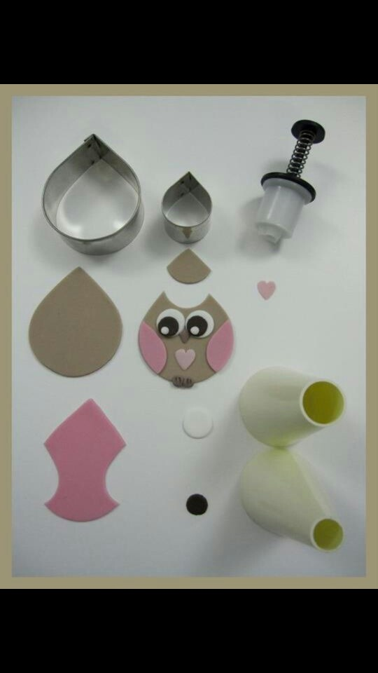 How to make an icing owl!!