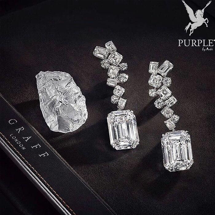 Graff Diamond Earrings by @graffdiamonds never disappoints! Look at that magnificent cut of stones. Hmm I wonder if I can get my hands on that rough diamond stone... Via @jewelryjournal #purplebyanki #diamonds #luxury #loveit #jewelry #jewelrygram #jewelrydesigner #love #jewelrydesign #finejewelry #luxurylifestyle #instagood #follow #instadaily #lovely #me #beautiful #loveofmylife #dubai #dubaifashion #dubailife #mydubai #Earrings