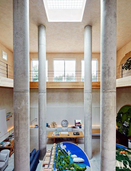 Landscape Designer Fernando Caruchou0027s Airy Studio In Madrid Photos |  Architectural Digest