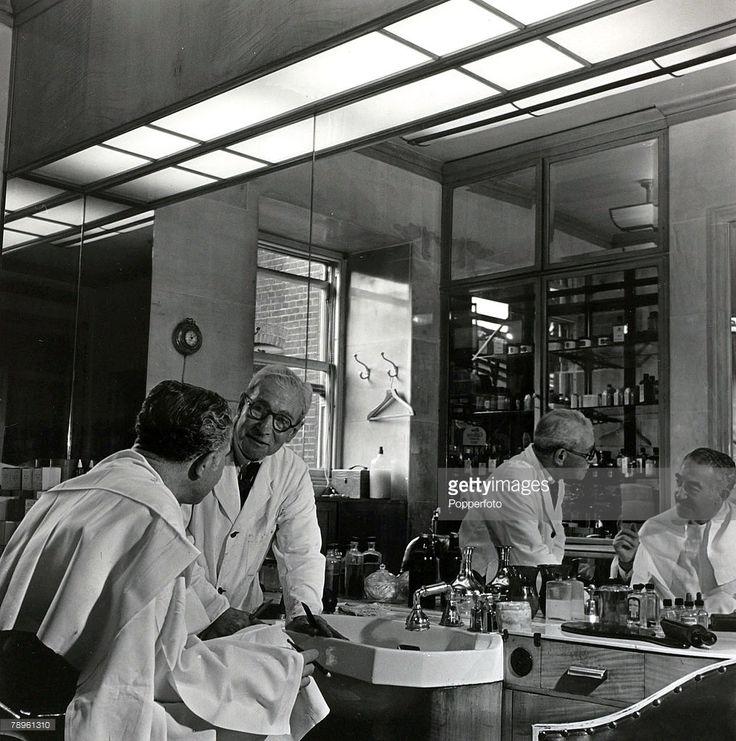 764 Best Vintage Barber Shops Images On Pinterest