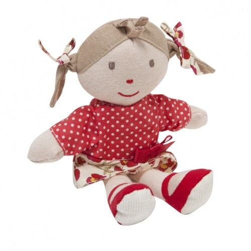 what a cute little girl - and so stylish!the gorgeous liberty dolly from bebe by minihaha is soft and cuddly $24.95