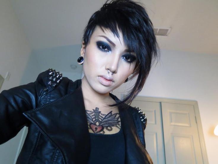 80s punk rock makeup tutorial hairstlyorg