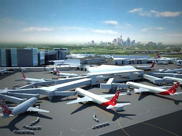 Sydney (Kingsford Smith) Airport is an international airport located 8 km south of the city centre, in the suburb of Mascot in Sydney. It is the only major airport serving Sydney and is a primary hub for Qantas, as well as a secondary hub for Virgin Australia and Jetstar Airways.