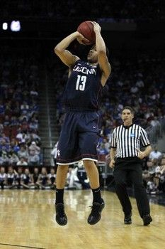 On Wednesday, UConn men's basketball team was selected No. 2 behind defending national champion Louisville in the inaugural season for the new American Athletic Conference.
