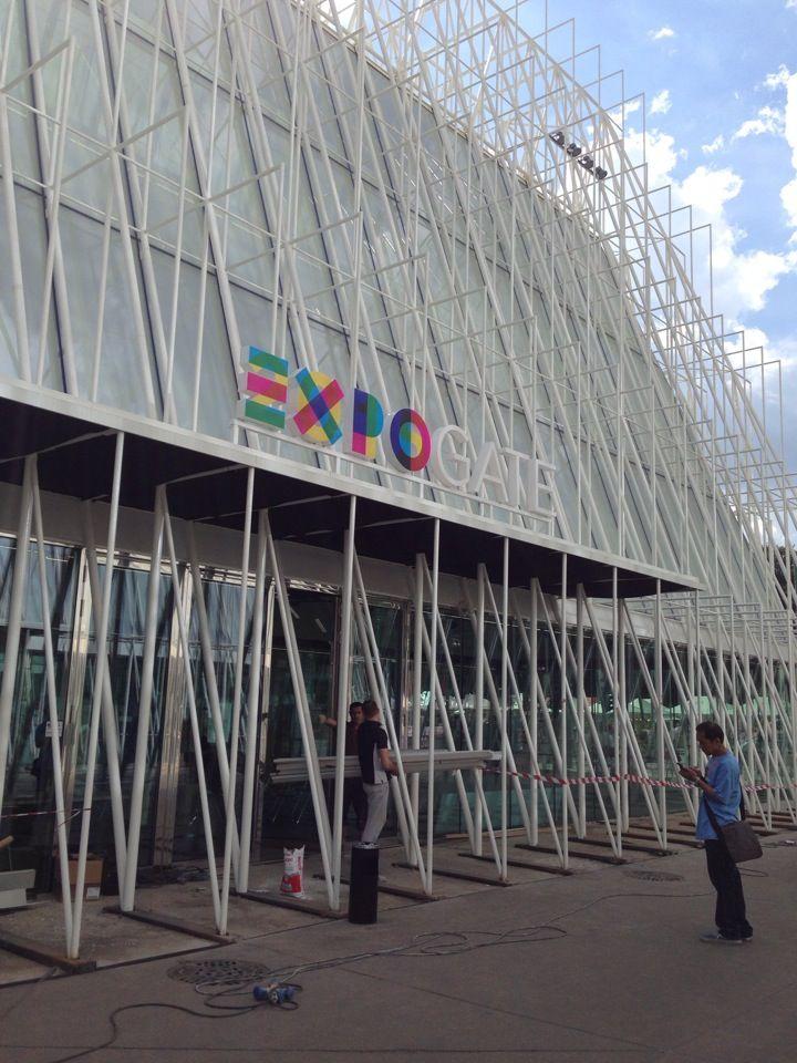 #ExpoGate #Milano #Lombardia #expo2015 #raiexpo