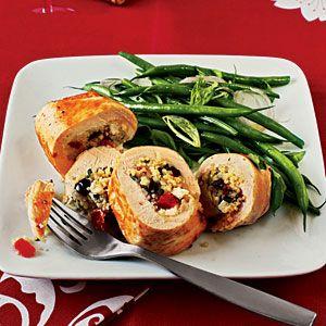 Couscous-Stuffed Chicken Recipe