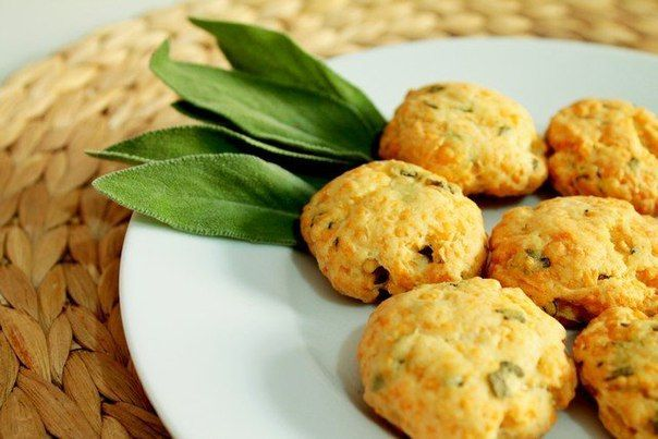 Cheese Biscuits With Sage Recipe