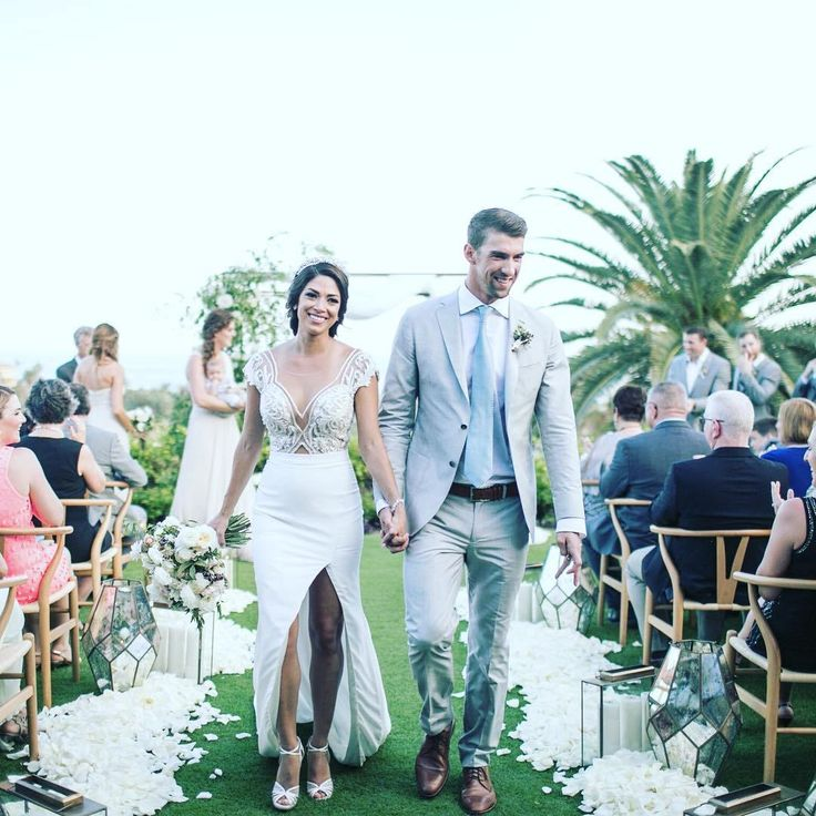 Michael Phelps and Nicole Johnson Wedding #julievino