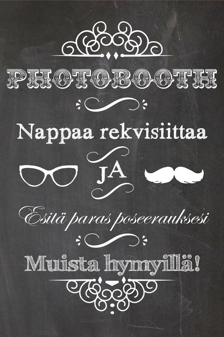 Pitsiä & Minttua - Hääblogi: Printattavia