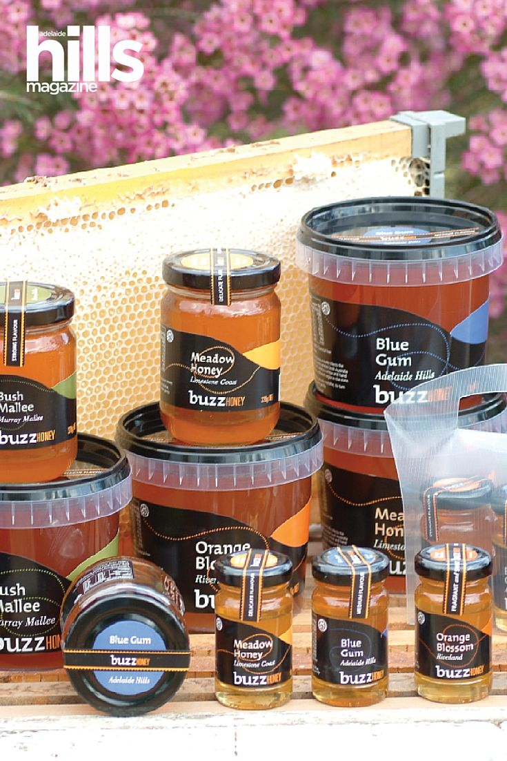 We all love an Adelaide Hills cellar door, so news that there's now one for honey had us buzzing! Buzz Honey includes a small café and 'honey-door'. Totness, Mount Barker, Adelaide Hills. South Australia.