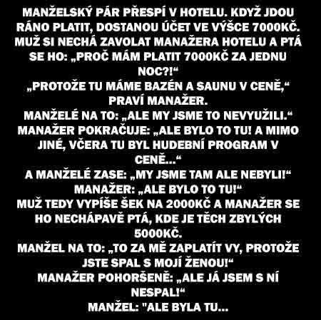 V hotelu | NUDAVPRACI.cz