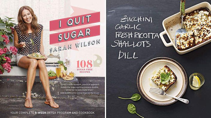 I Quit Sugar by Sarah Wilson.Get inspired to restore balance with this cookbook dedicated to eating well for food lovers.
