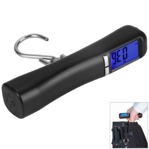 Digital Luggage Suitcase Bag Weight Electronic Travel Portable Scale Hanging New