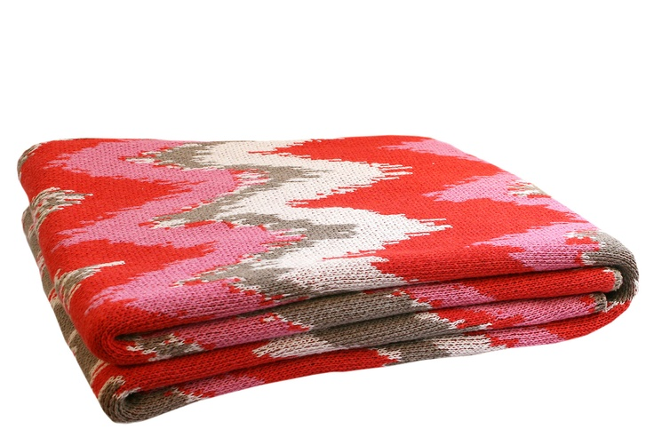 One Kings Lane - Throws for All - Fuego Eco Throw, Rosie