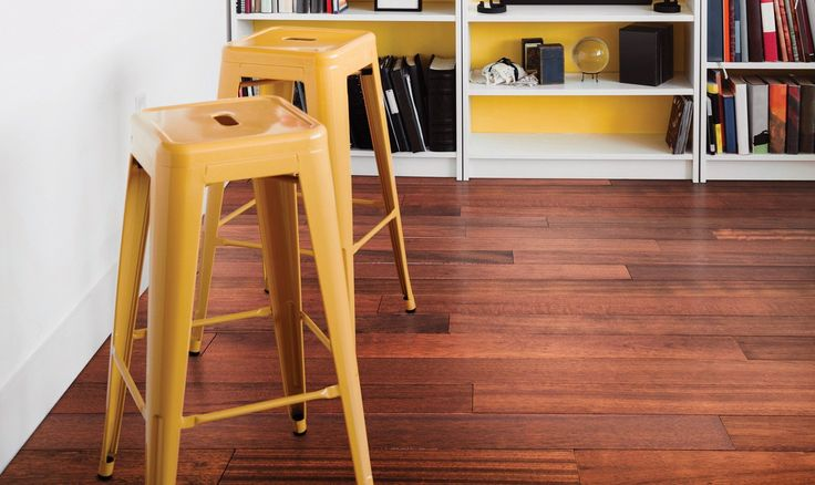 DOWNTOWN COLLECTION Brazilian Cherry Rio - Engineered Hardwood Flooring by Urban Floors