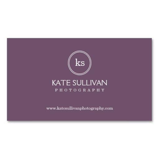 138 best monogram business cards images on pinterest monogram simple monogram business card groupon colourmoves Gallery
