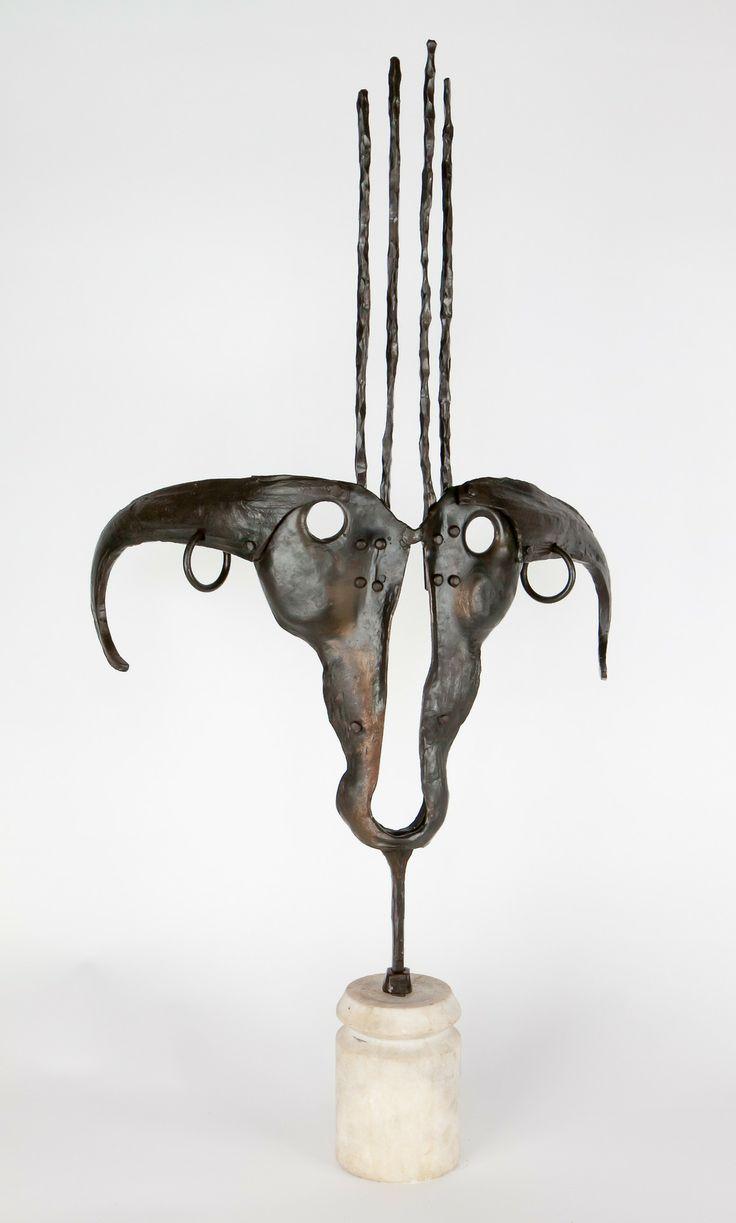 Anadora Lupo My first iron sculpture.