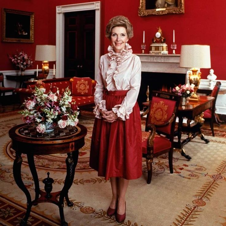 "Nancy Reagan's Red Made the Case for Embracing a Color ""Uniform"" // Mic // ""I suspect she was influential in making red the Republican color,"" Valerie Steele, director of the Museum at the Fashion Institute of Technology, told the NY Times."