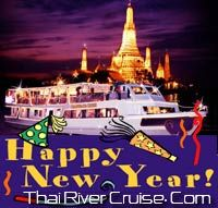 Enjoy Grand Celebrations of 2015 New Years Eve in Bangkok with Chaophraya Cruise Bangkok Thailand