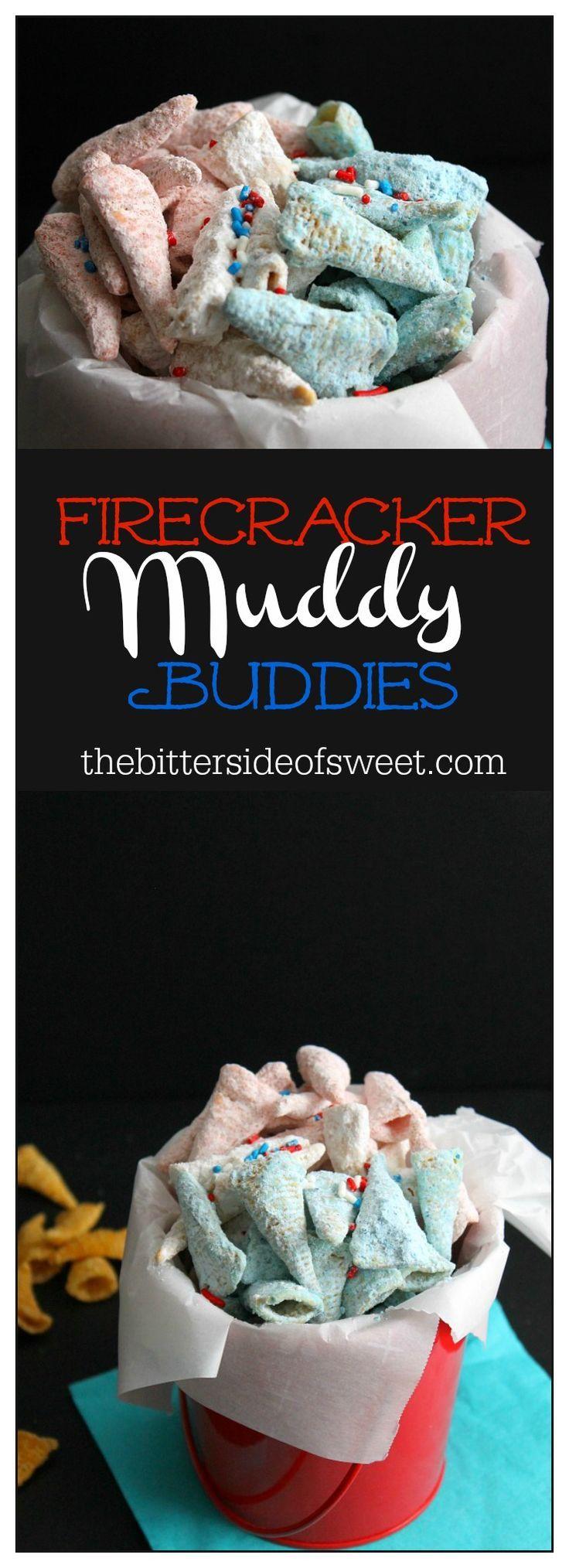 Firecracker Muddy Buddies | The Bitter Side of Sweet #SundaySupper