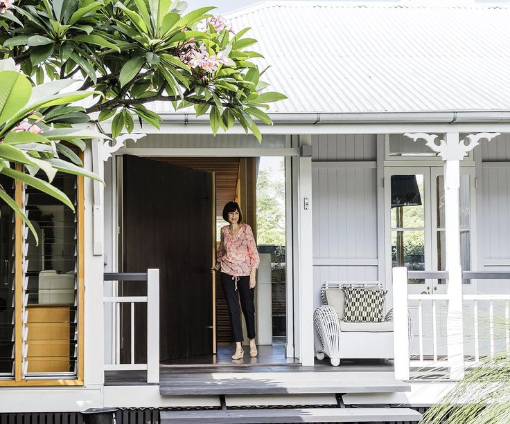 A Brisbane worker's cottage undergoes a spectacular extension and renovation, blending heritage, contemporary and natural styles.