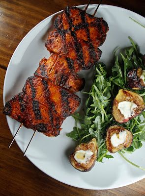 Vegan - Good, but pretty spicy. Liam wasn't a huge fan. The Chubby Vegetarian: Memphis-Style Dry-Rub BBQ Tofu