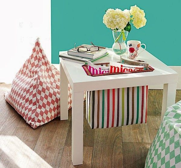 DIY : personnaliser la table basse Lack Ikea