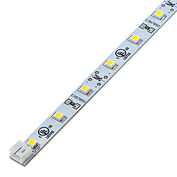 Narrow Rigid LED Light Bar w/ High Power 1-Chip SMD LEDs | PCB Light Bars | Rigid LED Linear Light Bars | LED Strip Lights & LED Bars | Super Bright LEDs
