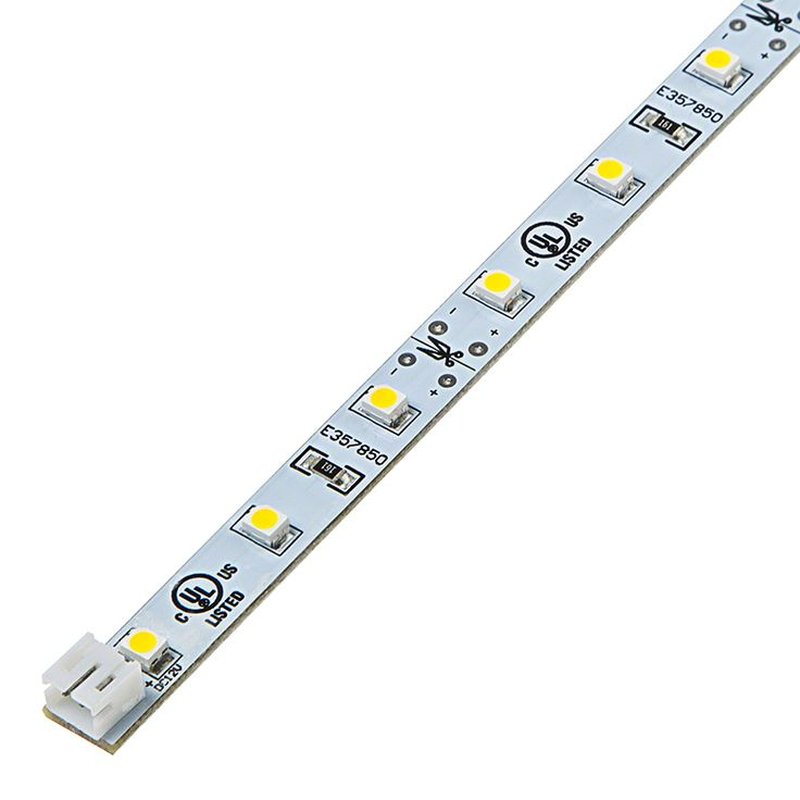 Narrow Rigid LED Light Bar w/ High Power 1-Chip SMD LEDs | PCB Light Bars | Rigid LED Linear Light Bars | LED Strip Lights & LED Bars | Super Bright LEDs