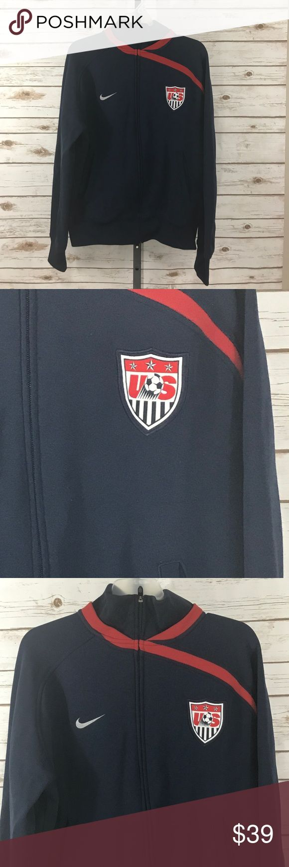 Nike Men's USA Soccer Jacket (M4942) Men's Nike Team USA Soccer Jacket. Some minor pilling. Nike Jackets & Coats