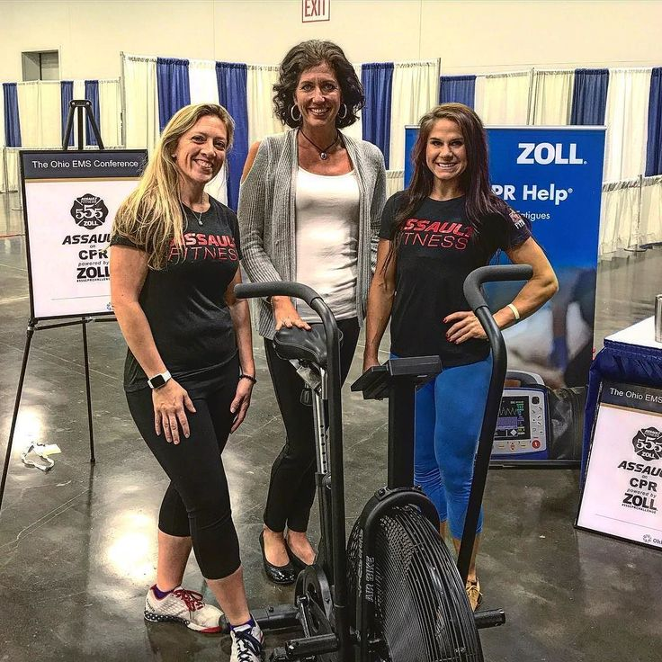 Have you tried the Assault on CPR powered by @zollemsfire . Today's the last day we will be at the Ohio EMS Conference in Columbus.  Stop by and see @555flyinbobbie @ashleyschwamberger and Zoll in the interactive area of the Columbus Convention Center!  The goal at 5-5-5 Firefighter Fitness Inc. is to help reduce Line Of Duty Deaths in emergency services. Historically over 55% of firefighter fatalities can be attributed to cardiac related events. One way to lower this number is to simply…