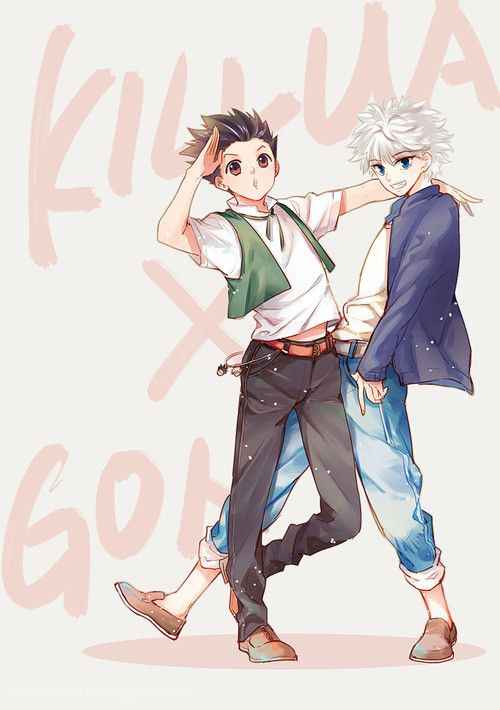 does gon meet ging in the anime version