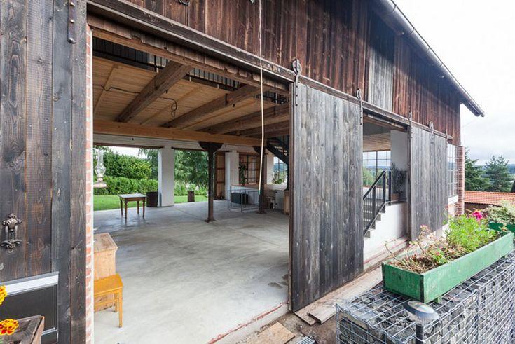 Přestavba stodoly v Benešově   Bydlení IQ
