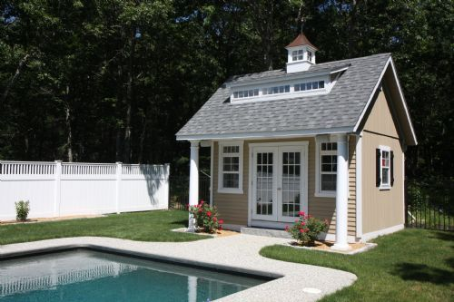 pool house pictures | Custom Pool Houses and Sheds - Froehlich's Farm - Froehlich's Farm