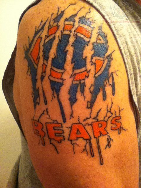 Chicago Bears Tattoos : Page 16