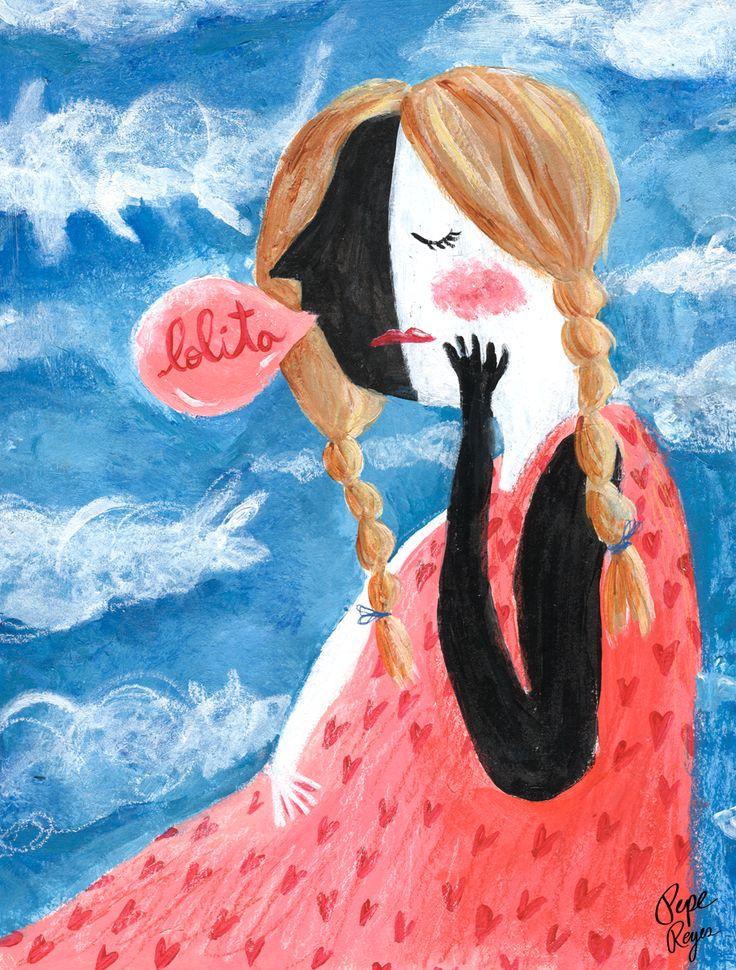 lolita # exponoparescinecine de mesa grafica http://mesagrafica.cl/web/expo/noparescinecine-2/