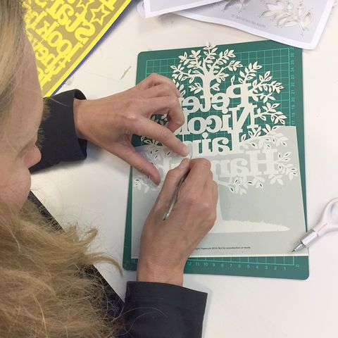 Cut your own Personalised Family Tree Workshop