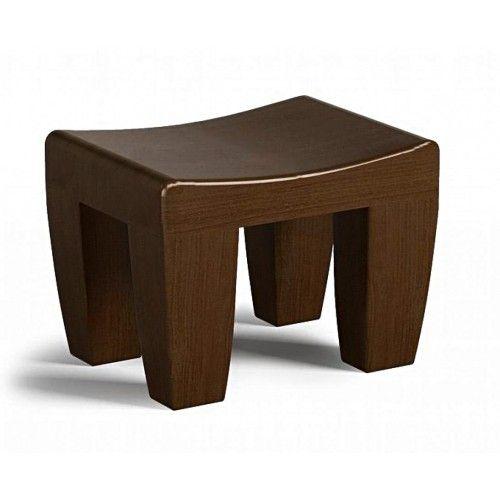 Réalisé dans un teck haut de gamme, teinté et verni à la gomme-laque, ce siège sera solide et polyvalent. Il se distinguera par la stylisation de ses volumes simples qui évoquent les tabourets de cérémonie africains.