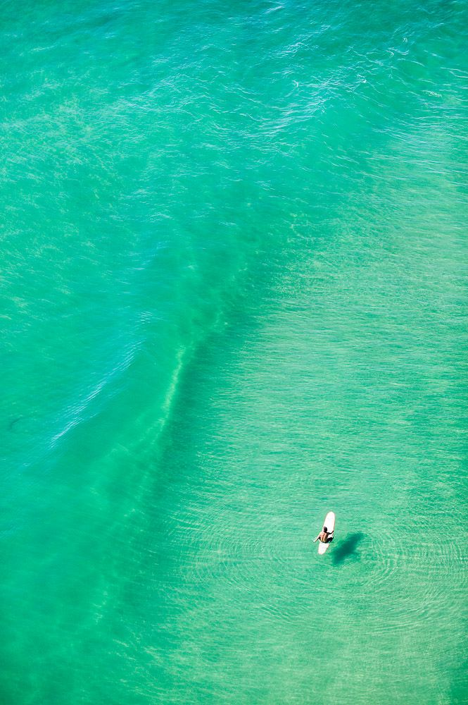 Crystal clear water in NOOSA!