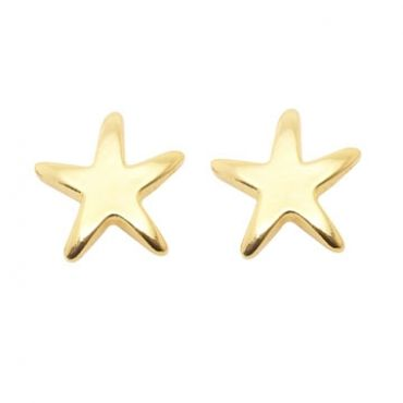 Starfish Earrings in Gold- available in gold and silver.$24.00 Get 25% off these earrings with coupon code 'foxy pin' www.foxyoriginals... #earrings, #goldjewelry, #goldearrings, #foxyoriginals, #starfishdesign, #sistergift, #goldstuds, #jewelrygift, #cutepackaging, #holidaygift, #birthdaygift, #momgift