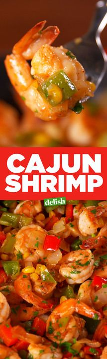 This Cajun Shrimp has a flavor you'll constantly crave. Get the recipe from Delish.com.